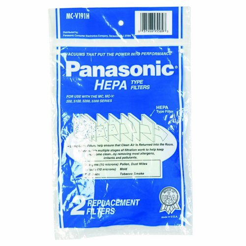 PANASONIC MC-V191H REPLACEMENT HEPA FILTER