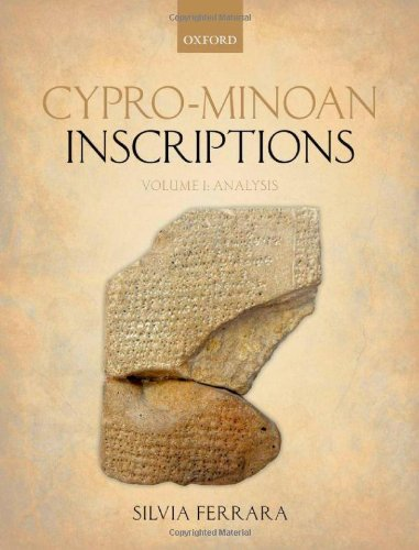 Cypro-Minoan Inscriptions: Volume 1: Analysis