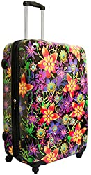 "Heys USA Novus Art Floral Burst 26"" Spinner"