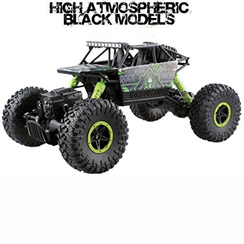 Wild Radio Remote Control Off Road RC Car, Robiear Green ATV Buggy Monster Truck