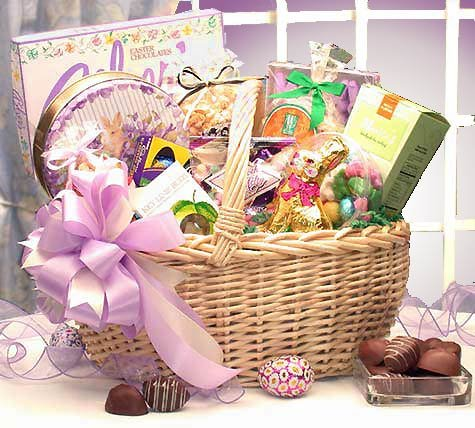 Deluxe Easter Delights Gourmet Gift Basket for the Whole Family