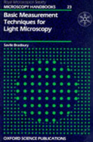 Basic Measurement Techniques For Light Microscopy (Microscopy Handbooks)