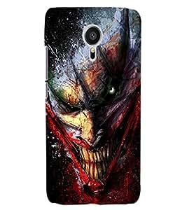 ColourCraft Scary Clown Design Back Case Cover for MEIZU MX5
