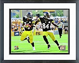 Le\'Veon Bell & Antonio Brown Pittsburgh Steelers NFL Action Photo (Size: 12.5\