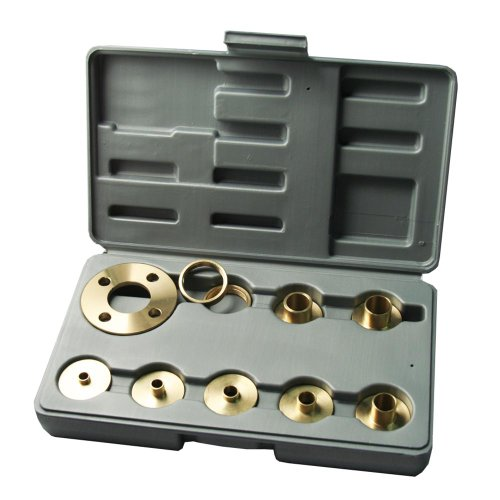 Kempston 99000 10 pcs Solid Brass Template Guide Kit With Adaptor