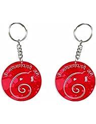 Ganesh Chaturthi Special 15 (Ganpatay Namah) Key Chain By Iberrys