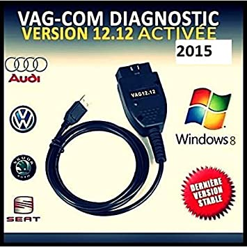 cable logiciel diagnostic odbii hex can vag com vcds vw audi seat cvfddfghbn. Black Bedroom Furniture Sets. Home Design Ideas