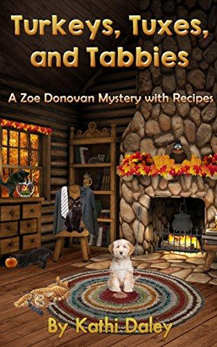 turkeys-tuxes-and-tabbies-zoe-donovan-mystery-book-10-english-edition