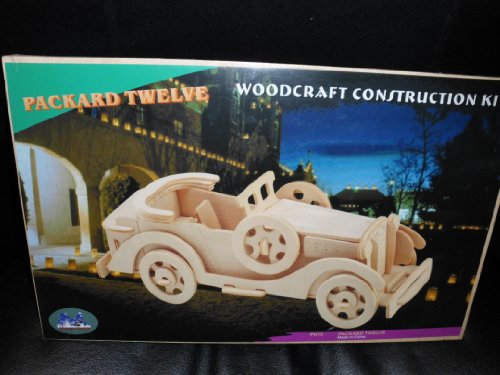 3-D Wooden Puzzle - Car Model Packard Twelve -Affordable Gift for your Little One! Item #DCHI-WPZ-P015 - 1