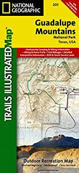 TI Map #203- Guadalupe Mountains National Park