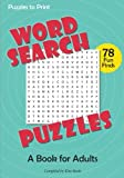 Word Search Puzzles: A Book for Adults