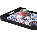Danali New York Christmas Gift Set Of 2 - Cookies And Cream Tin Candle With A Dot Flower White Tray