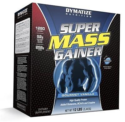 Dymatize Nutrition Super Mass Gainer Gourmet Vanilla 12-pounds from Dymatize