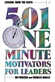 img - for Lessons from the Cloth : 501 One-Minute Motivators for Leaders (Volume 1) book / textbook / text book