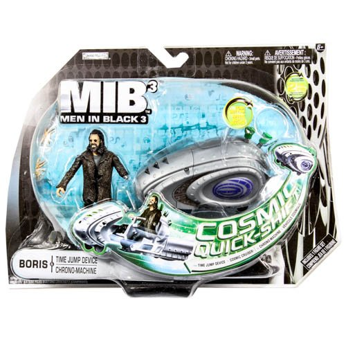 Men In Black Cosmic Quick-Shift Boris & Time Jump Device Action Figure