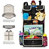 *FLASH SALE* Premium Kids Car Back Seat Organizer | Simple Installation | Multiple Pockets | Detachable Compartment | Ideal Gift | 100% Infinity Guarantee |