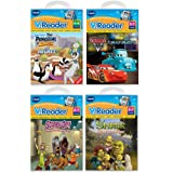 Vtech V.Reader Animated E-Book 4 Book Bundle
