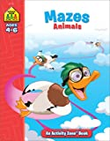 img - for Mazes: Animals: Ages 4-6 (Activity Zone) book / textbook / text book