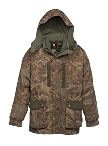 Browning 3-N-1 Full Curl Wool Hunting Parka - All Terrain Camo by Browning