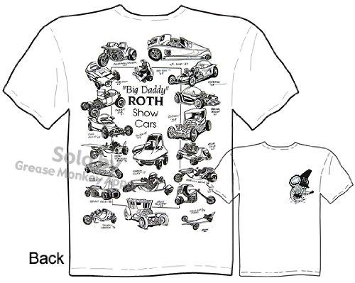 SIZE Medium Ed Roth Rat Fink Ed Roth Show Cars Big Daddy T Rat Fink Shirt