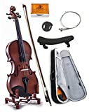 SKY 1/2 Size Student Violin GREAT STARTER KIT with Lightweight Case