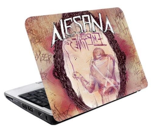 MusicSkins - Skin per netbook, motivo Alesana The Emptiness, taglia M, 235 x 140 mm