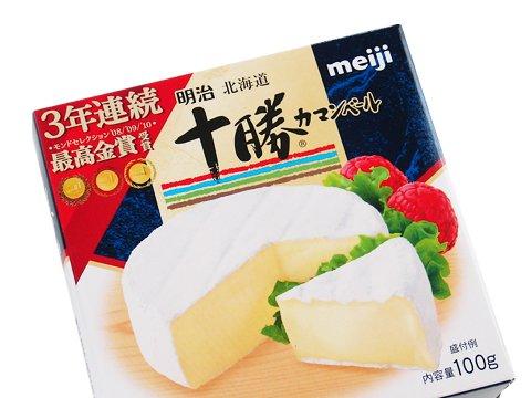 チーズ 十勝カマンベールチーズ 明治 100g