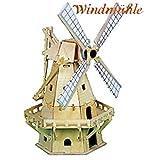 Produktbild von Weico Solar - Windmühle 80130