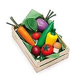 ドイツErzi(エルツィ)社 木製おままごと/木箱入り野菜セット