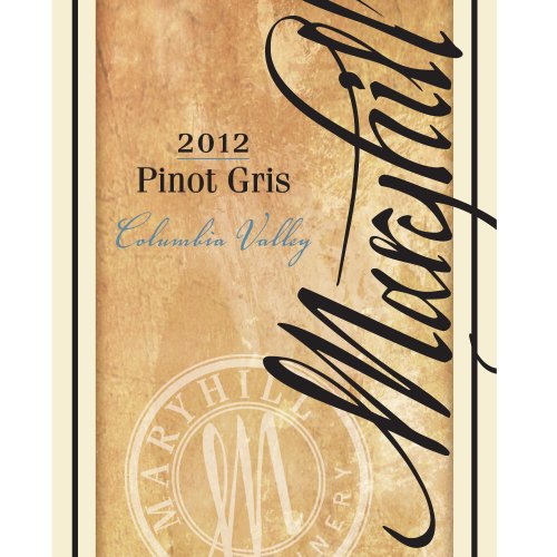 2012 Maryhill Winery Columbia Valley Pinot Gris 750 Ml