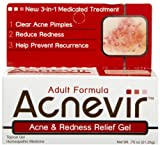Acnevir Adult Formula Acne & Redness Relief Gel 0.75 oz (21.25 g)