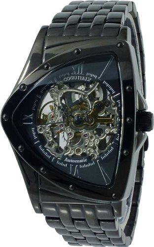 [コグ]COGU 流通限定モデル フルスケルトン 自動巻き 腕時計 BNT-BBK
