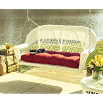 Resin Wicker Porch Swing: Cape Cod Outdoor Wicker
