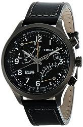 Timex Intelligent Quartz Chronograph Black Dial Mens Watch - T2N699