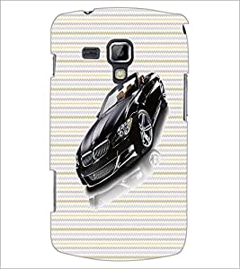 Printdhaba Car D-4740 Back Case Cover For Samsung Galaxy S Duos 2 S7582