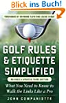Golf Rules & Etiquette Simplified, 3r...