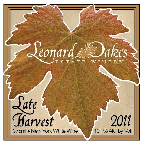 2011 Leonard Oakes Estate Winery Late Harvest Vidal Blanc 375 Ml