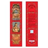 Hand-Rolled Incense Sticks- Pure Rose Traditional Relaxation Agarbatti Pack Of 10 (120 Sticks)