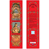 Hand-Rolled Incense Sticks- Pure Rose Traditional Relaxation Pack Of 5 (60 Sticks)