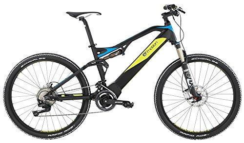 "BH Bikes Revo Scape 27,5"" E-Bike 14Ah E-Mountainbike schwarz/blau/gelb 2016 RH 45 cm / 27,5 Zoll"