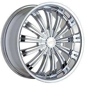 "Baccarat Taboo 1160 Chrome Wheel (17x7""/10x114.3mm)"