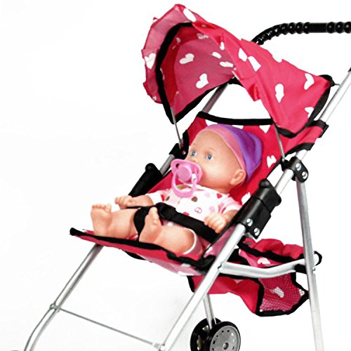 The New York Doll Collection My First Doll Stroller With
