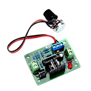 12 Volt Dc Motor Speed Controller With Pulse Electronic