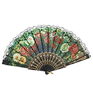 Amazon.com - Spanish Hand Fan Decorative Design 5 - Home And