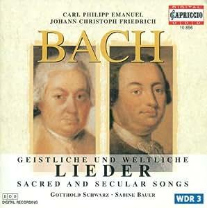 Bach C.P.E.: Geistliche Gesan