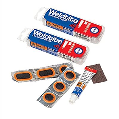2 x Weldtite Puncture Repair kit 4 Road Bike Cycle 700c Inner Tubes from Weldtite