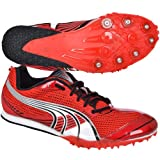 PUMA Mens Complete TFX Miler 3 Middle Distance Running Spikes - Red - 8.5UK