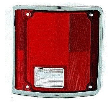 73 - 87 Chevrolet GMC Truck Taillight PASSENGER NEW Taillamp Chrome Trim Lens ONLY 73-91 Blazer Jimmy Suburban (73 Chevy Truck Taillights compare prices)