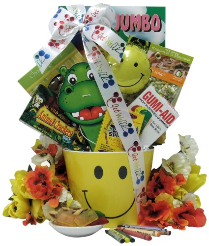 Great Arrivals Kid's Get Well Gift Basket Ages 3 to 5, Get Well Smiles - 1