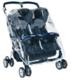 RAIN COVER ONLY BRAND NEW PEG PEREGO ARIA TWIN PUSHCHAIR RAINCOVER
